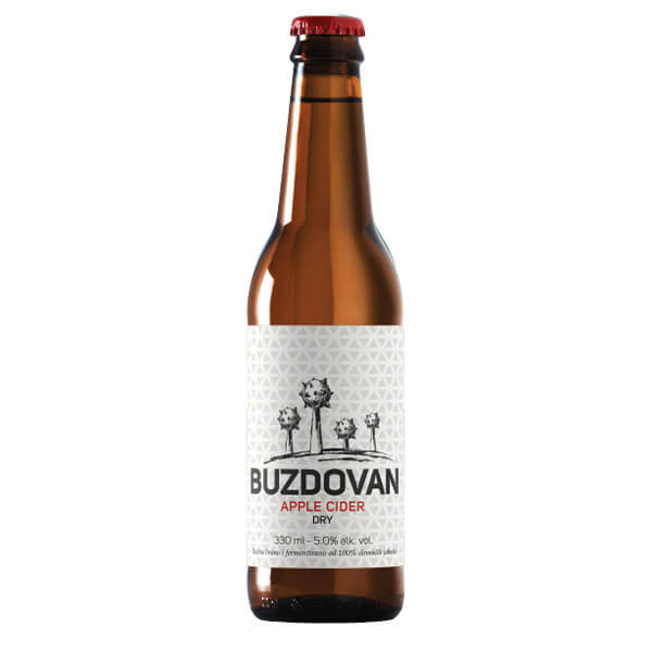 Buzdovan dry apple cider